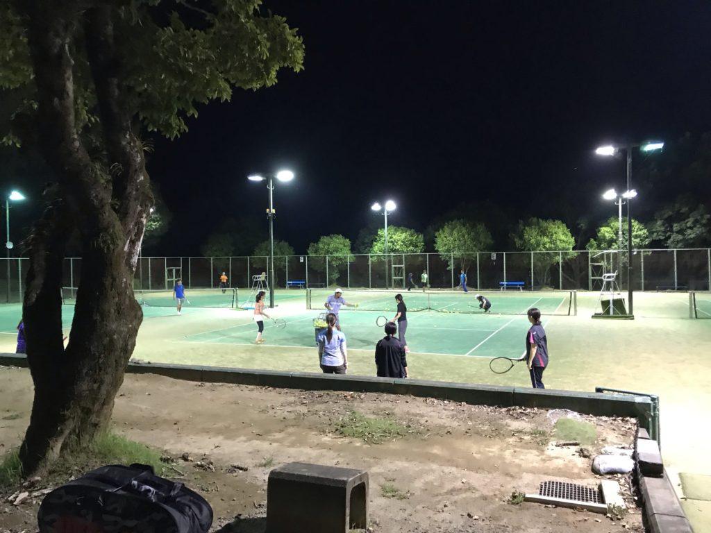 初心者テニススクール2019
